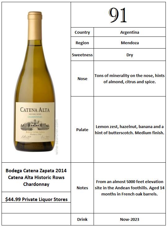 Bodega Catena Zapata 2014 Catena Alta Historic Rows Chardonnay.PNG