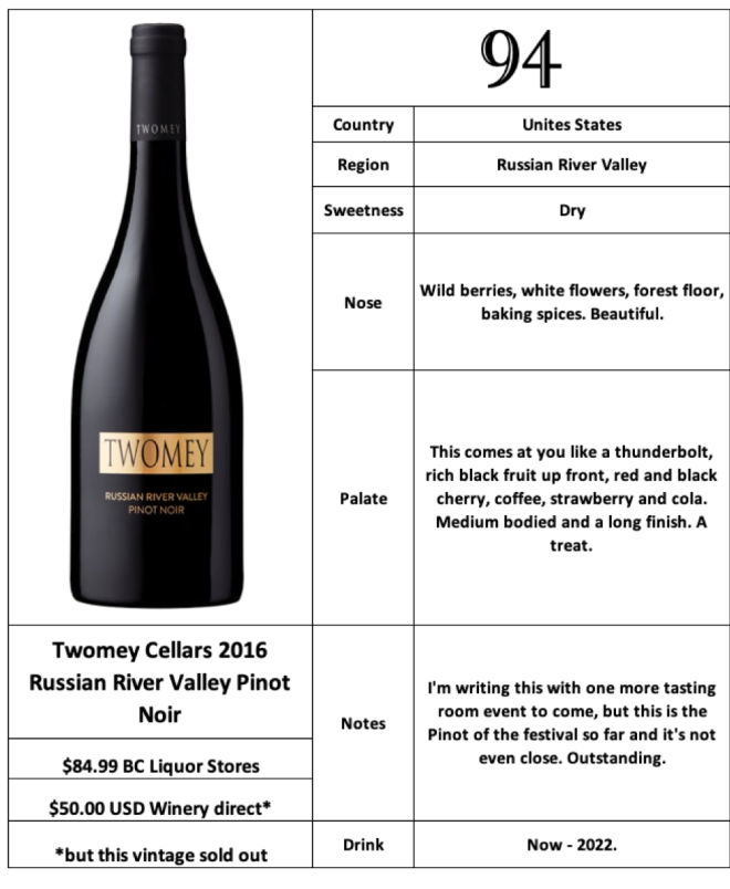 Twomey Cellars 2016 Russian River Valley Pinot Noir