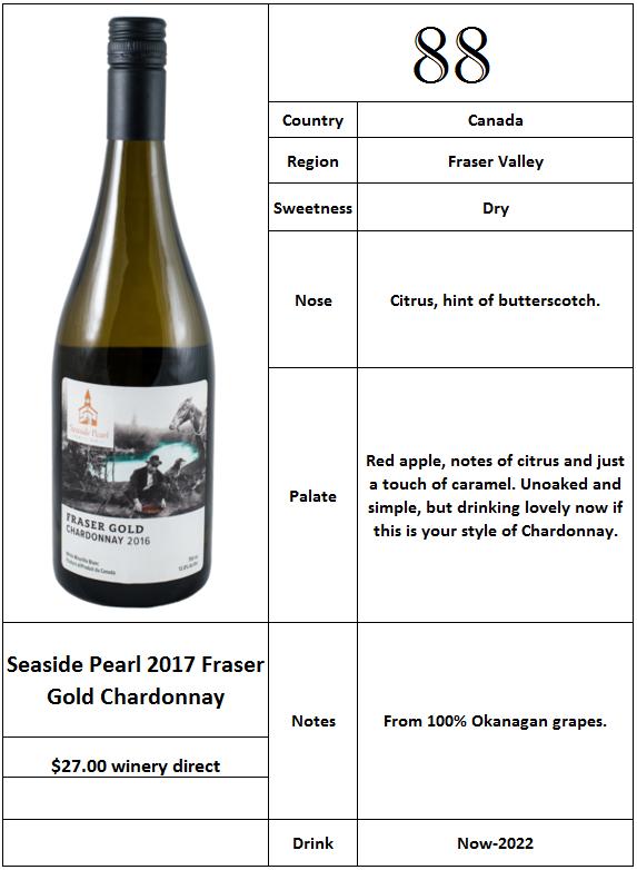 Seaside Pearl 2017 Fraser Gold Chardonnay