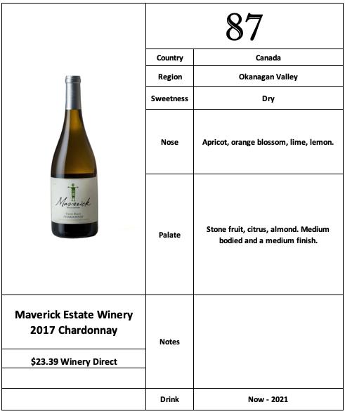Maverick 2017 Chardonnay