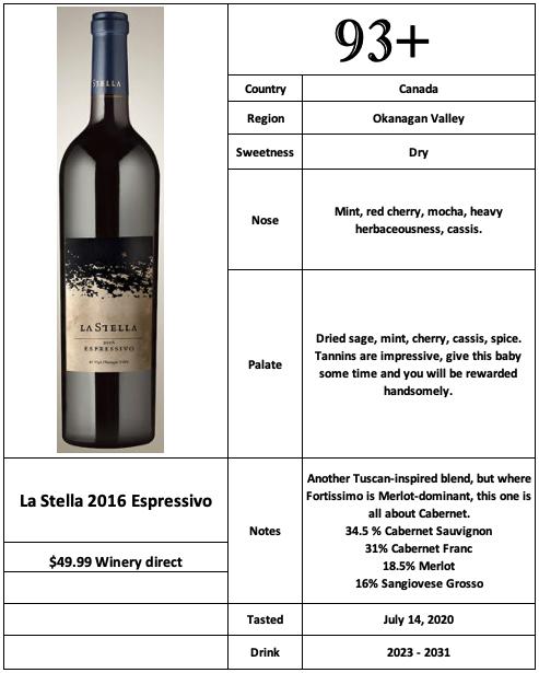 La Stella 2016 Espressivo