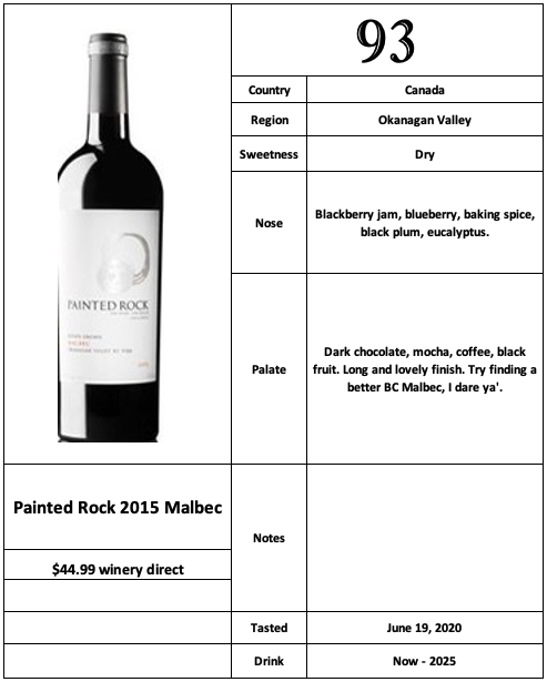 Painted Rock 2015 Malbec