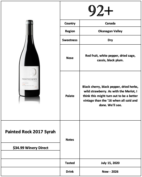 Painted Rock 2017 Syrah