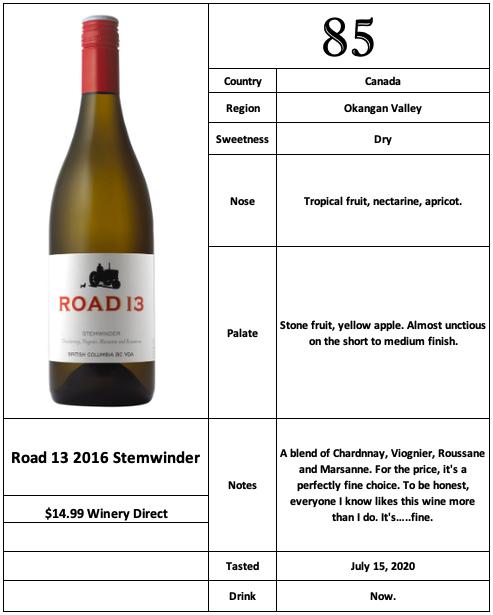 Road 13 2016 Stemwinder