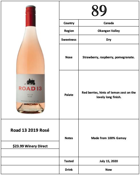Road 13 2019 Rosé